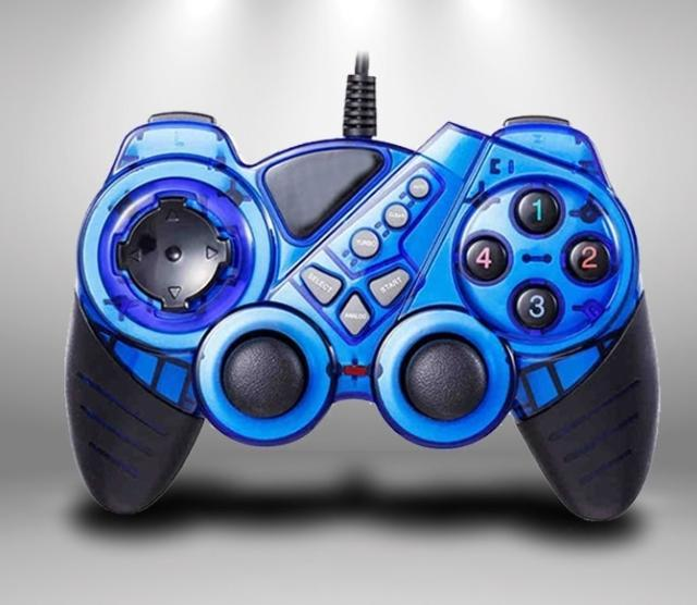 Premium Lanjue L4000 Wired Game Controller With Joystick - Pkgator