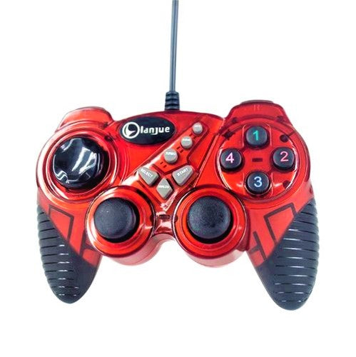 Stylish Lanjue L2000 Wired Game Controller With Joystick - Pkgator