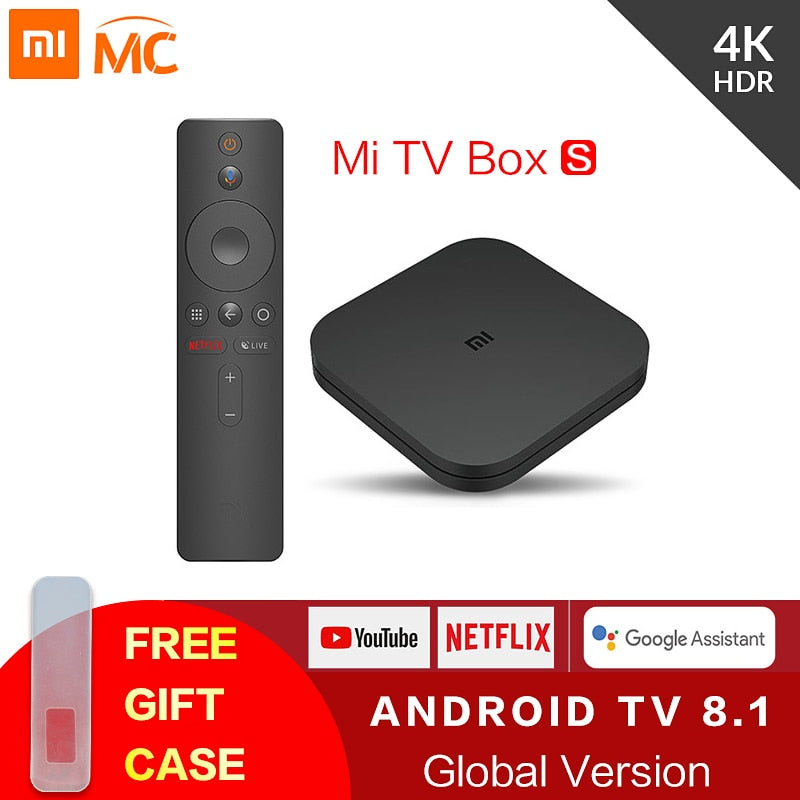 Original Global MI Box 4K Ultra HD Set Top Box Google Cast