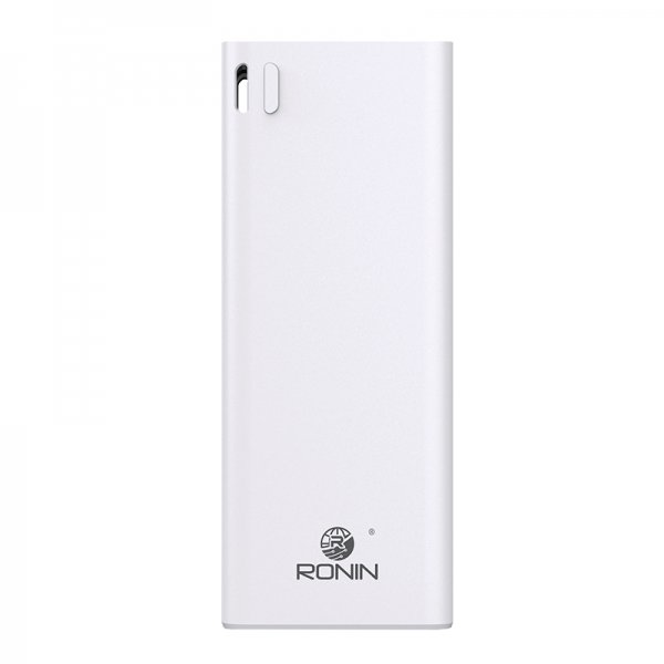 New premium Ronin R-58 10000 mAh Ultra Small Power Bank White - Pkgator