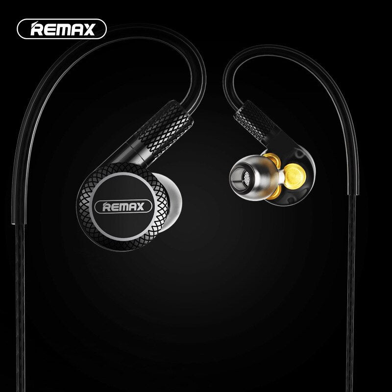 New Exclusive REMAX Earhook RM-590 Earphone