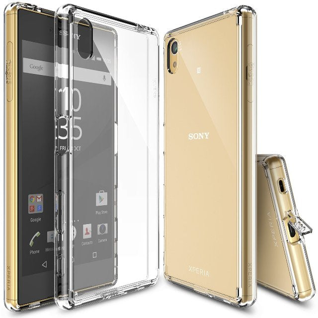 New Luxury Transparent TPU Soft Mobile Cover For SONY