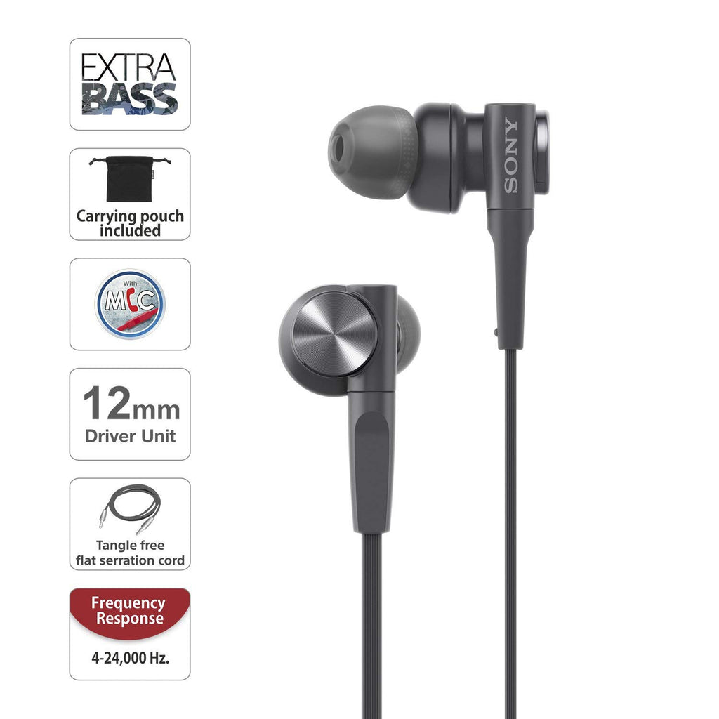 New Exclusive Sony MDR-XB55AP In-Ear Headphone For All Smartphones