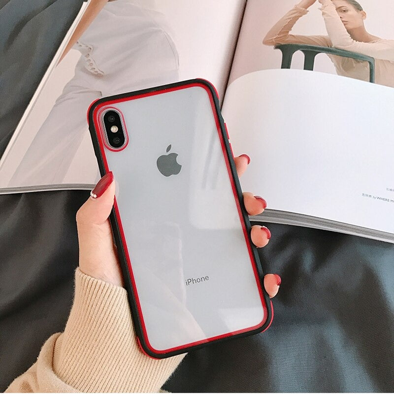 transparent case for iPhone