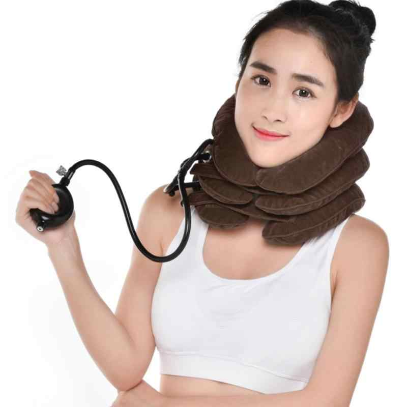 New Exclusive Tractor Inflatable Air Cervical Neck Massager