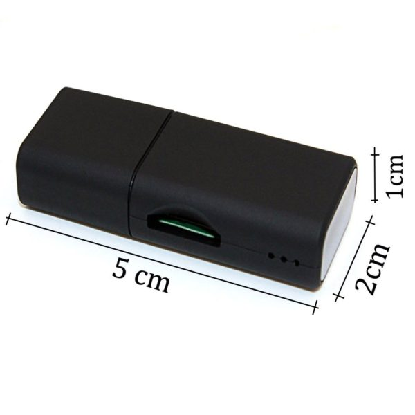 USB Flash Drive Spy Camera HD 1280P Mini DV Audio Video Recorder