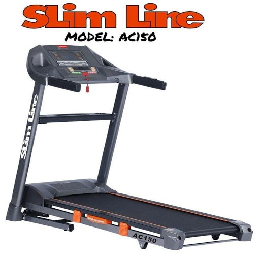 SLIM LINE AC150 Home Gym Treadmill For Men Women