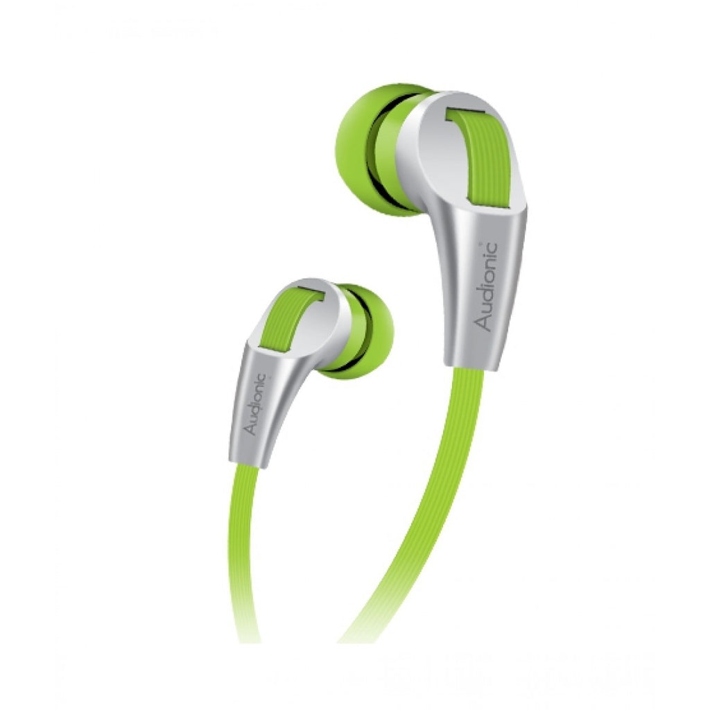 Audionic Thunder In-Ear Earphone Green (T-30) For All Smartphones