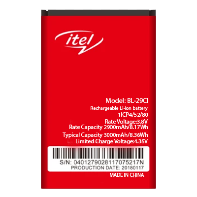 New High Quality Original Battery For ITEL BL-29C1