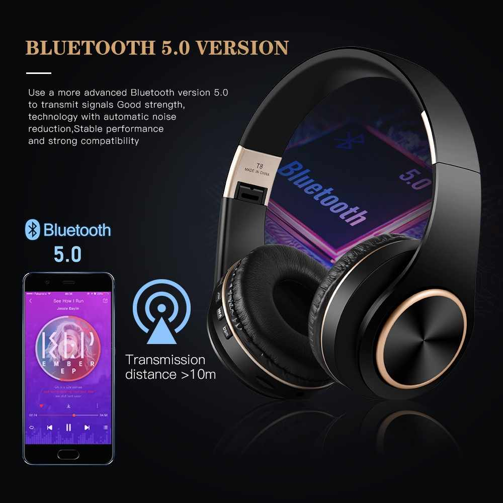 Best T8 Wireless Bluetooth Headphones For All Smartphones