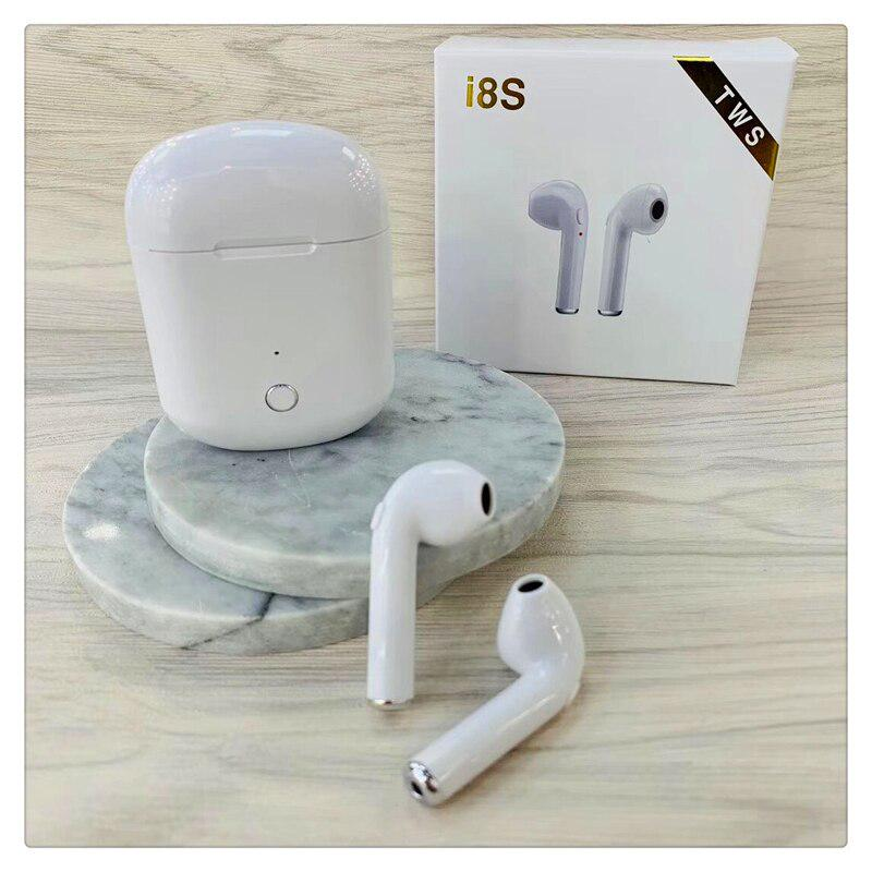 New I8s TWS Bluetooth Earphone Headset Wireless Airpod