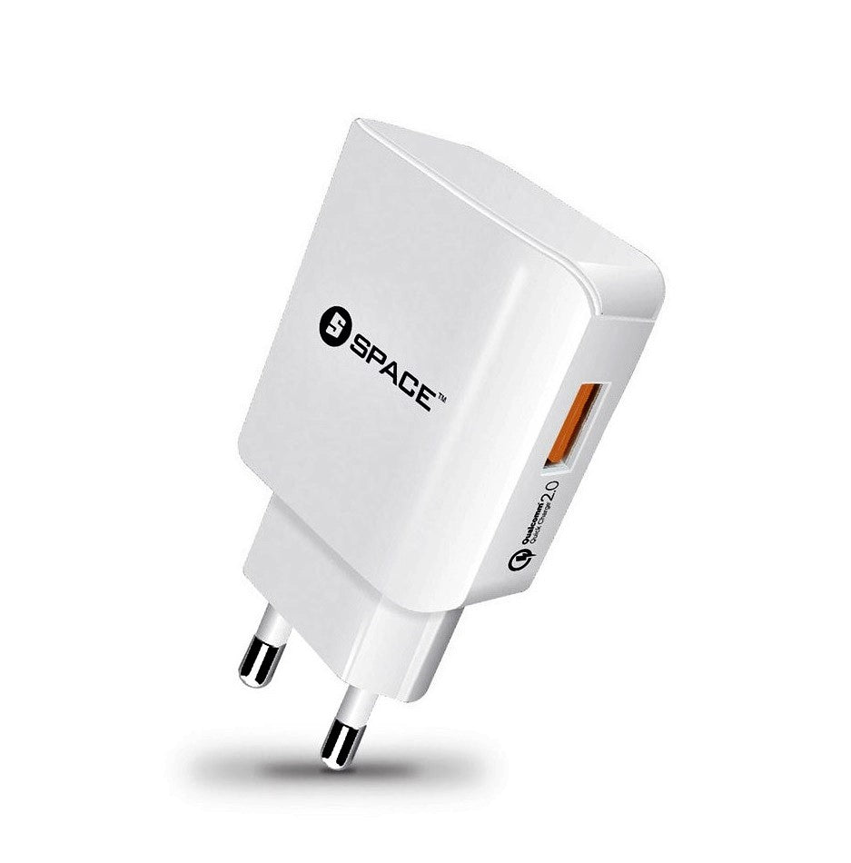 New Exclusive SPACE WC-122 Quick Charger 2.0 Wall Charger