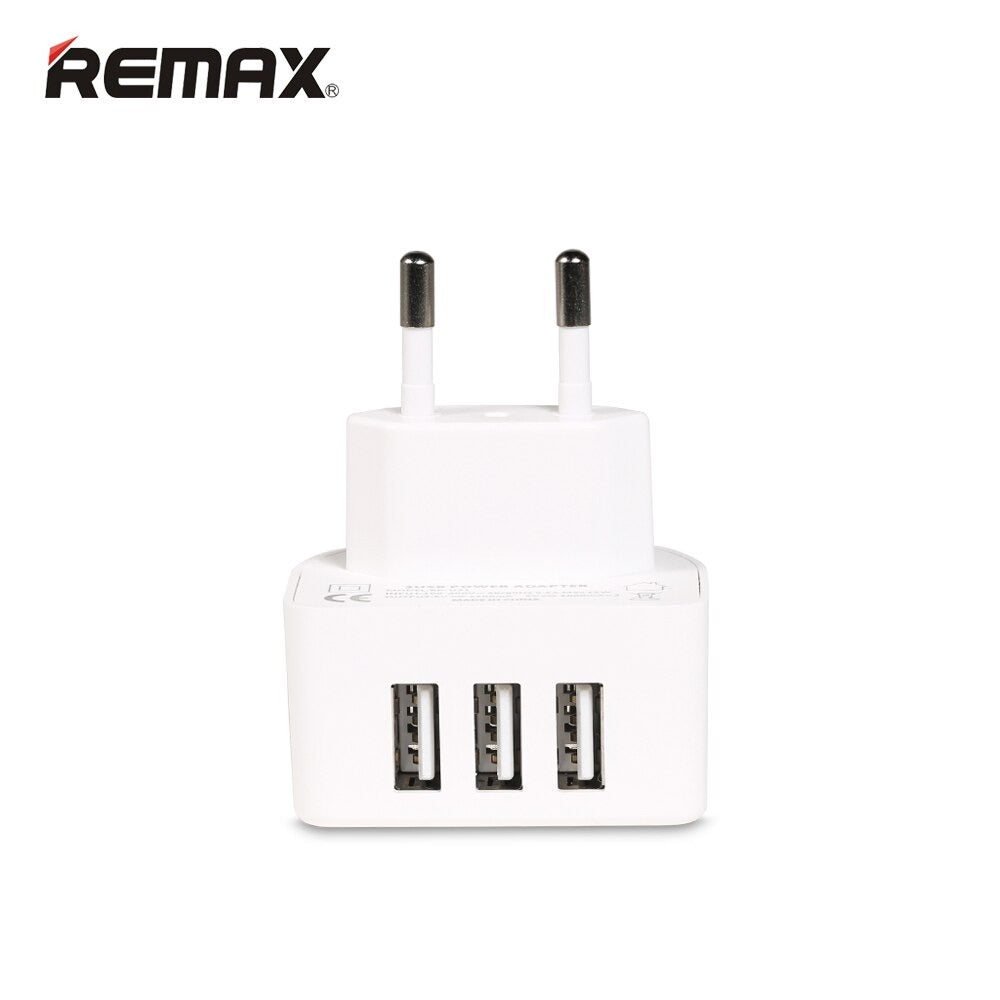 New Exclusive Remax 3in1 USB Power Adapter For iPhone And Android