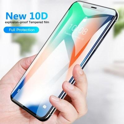 Ultra- Thin 10D Full HD Glass Phone Protector For iPhone - Pkgator