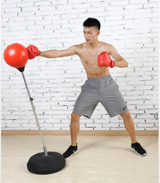 Fist Hitting 4 level height adjustable Vertical Speed Boxing Punching Ball