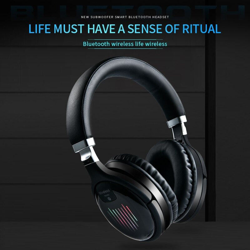New Stylish TM-061 Wireless Stereo Headphone With Mic