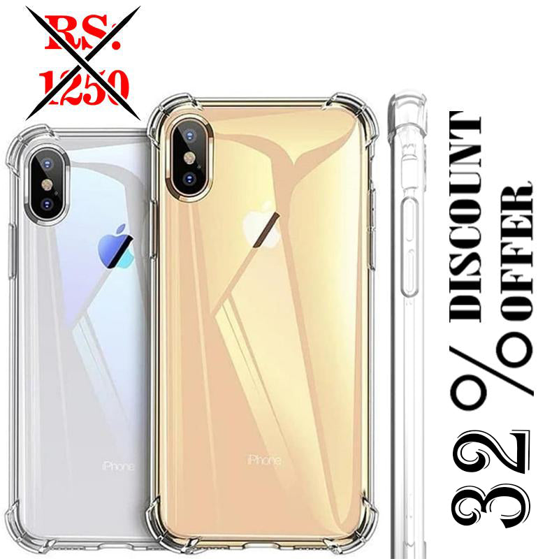 Anti shock Silicon Case For iPhone Xsmax
