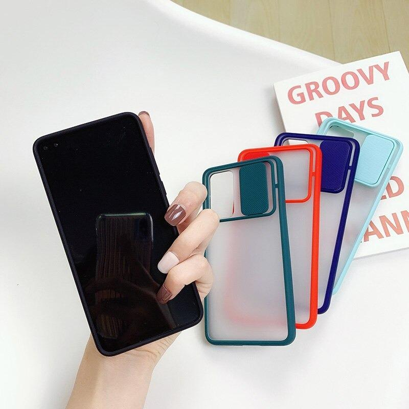 New Thin Slide Camera Lens Protection Phone Case For Redmi Mi