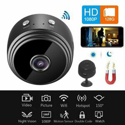 New Stylish Mini A9 1080p HD Magnetic Wifi Security Camera