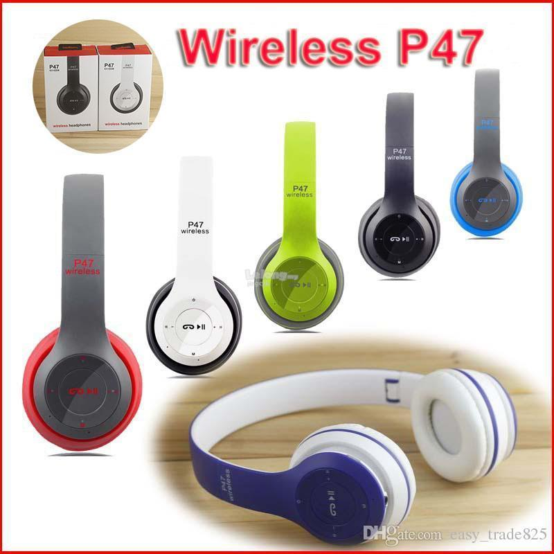 New Latest Bluetooth Wireless P47 Headphones For All Devices - Pkgator