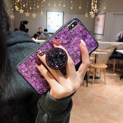 Glitter Fancy Mobile Ring Holder Stand Phone Case For  iPhone - Pkgator