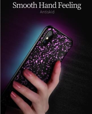 Crystal Fancy Shine Glitter Soft Silicon Case For iPhone - Pkgator