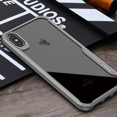 New Exclusive iPaky Custom Transparent TPU Bumper Mobile Case For iPhone - Pkgator