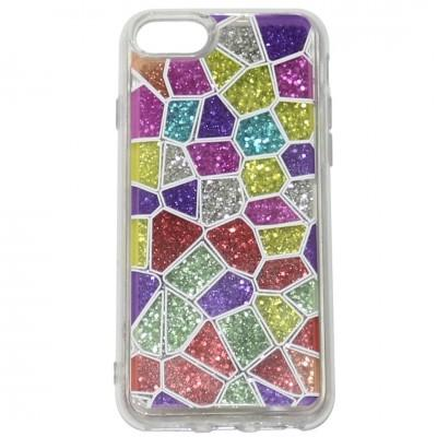 New Bling Moving Glitter Outside Picture Phone Case For iPhone - Pkgator