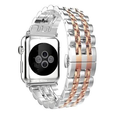 New Apple Watch 42,44 mm (Seven Line) Metal Satrap - Pkgator