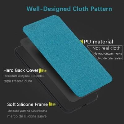 Classic Design Leather Back Soft Silicone Phone Cover For iPhone - Pkgator