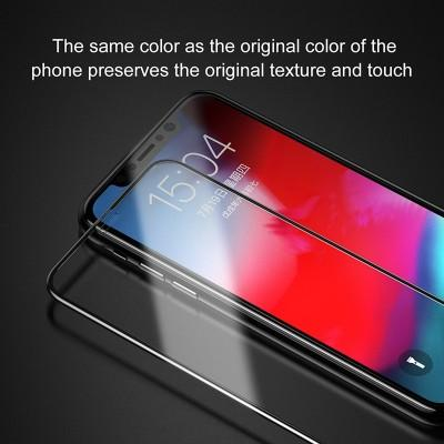 New Shiny Baseus Front Screen Protector Glass High Quality For iPhone - Pkgator