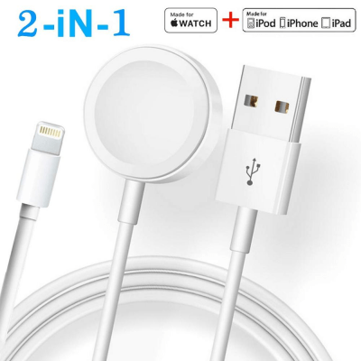 New Best Magnetic Cable 2 in 1 For Smart Watches & iPhone - Pkgator