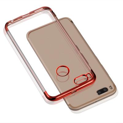 Buy Trendy Anti-Knock Transparent Soft Silicon Mobile Cover For iPhone