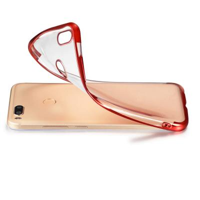 Smart Trendy Anti-Knock Transparent Soft Silicon Mobile Cover For iPhone
