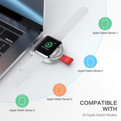 Wireless Mini USB iWatch Charger For Apple Watches - Pkgator