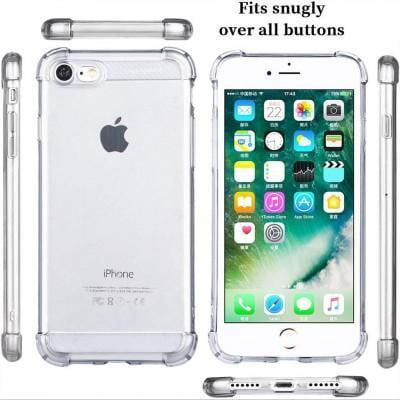 CRA SHPROOP Transparent Mobile Cover For iPhone - Pkgator