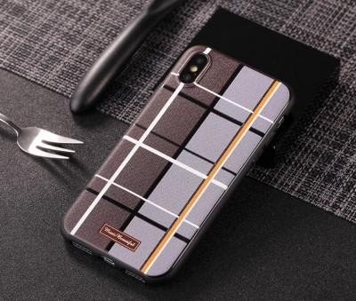 New Stylish Fashion Grid Back Mobile Cover For iPhone - Pkgator