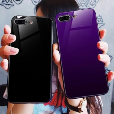Stylish Tempered Glass TPU+PC Mobile Cover for Samsung - Pkgator