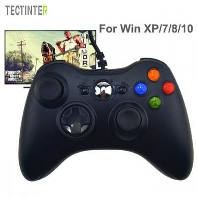 TECTINTER USB Game Controller With Joystick For Microsoft System PC - Pkgator