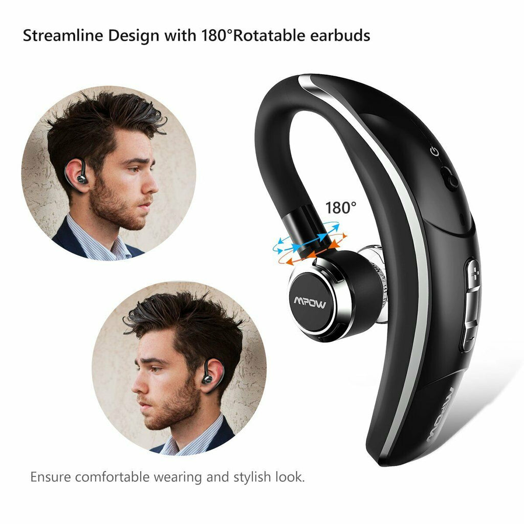 ART-Q8 Wireless Bluetooth 5.0 Headset Headphone Earbuds Noise Cancelling