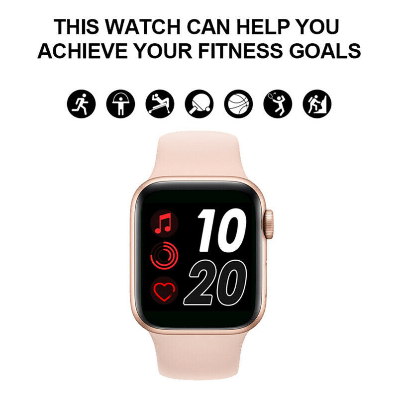 Best Smart Watch T500 Fitness Blood Pressure Heart Rate Smart Phone Watch
