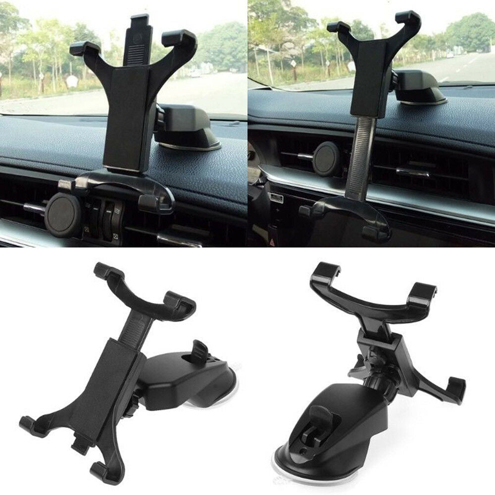 360° Car Dashboard Mount Slot Holder Stand For Tablets