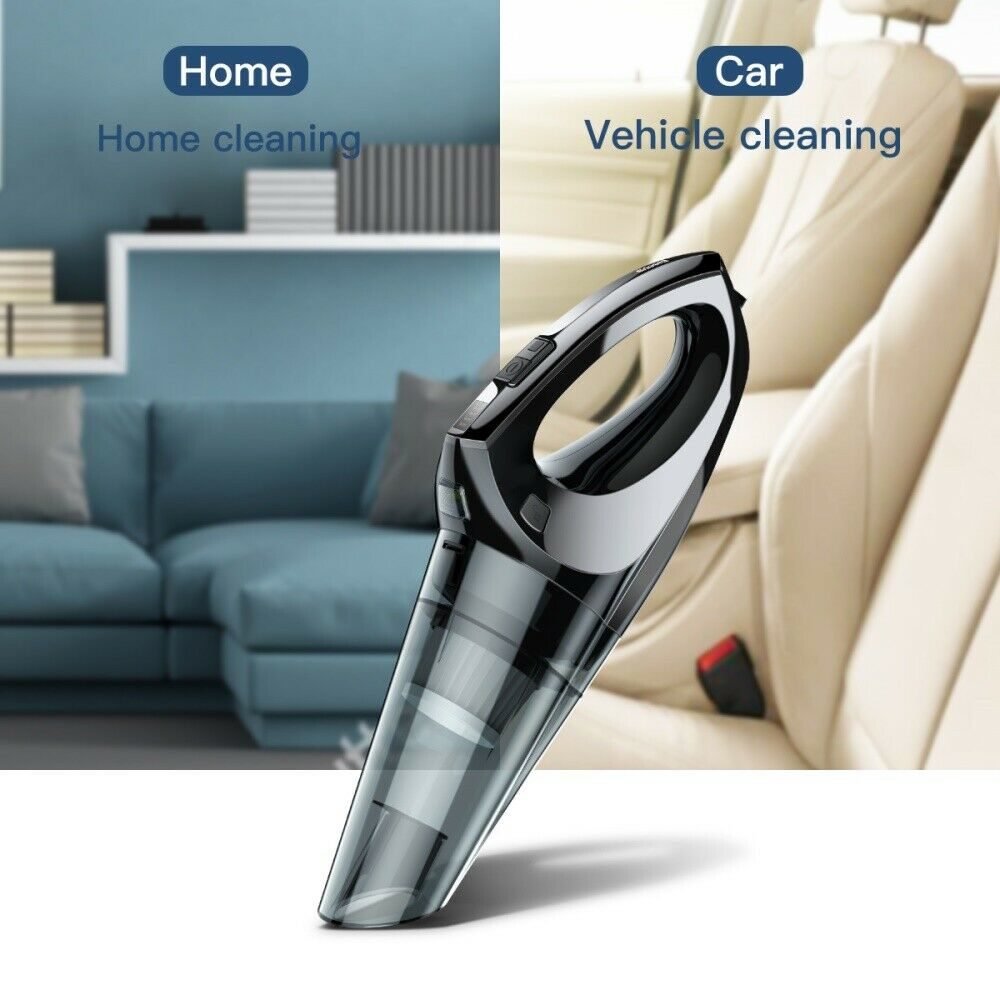 New BASEUS Shark One H-501 Wired Portable Handheld Car Vacuum Cleaner