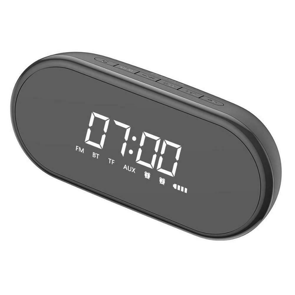 Encok E09 Bluetooth Wireless Clock Portable Support TF Card Stereo Speaker