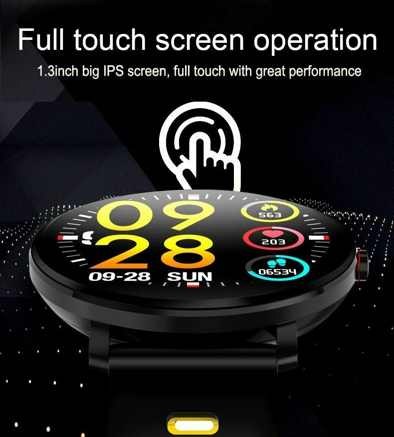 New Trendy Sports K9 Men And Women Blood Pressure Smartwatch