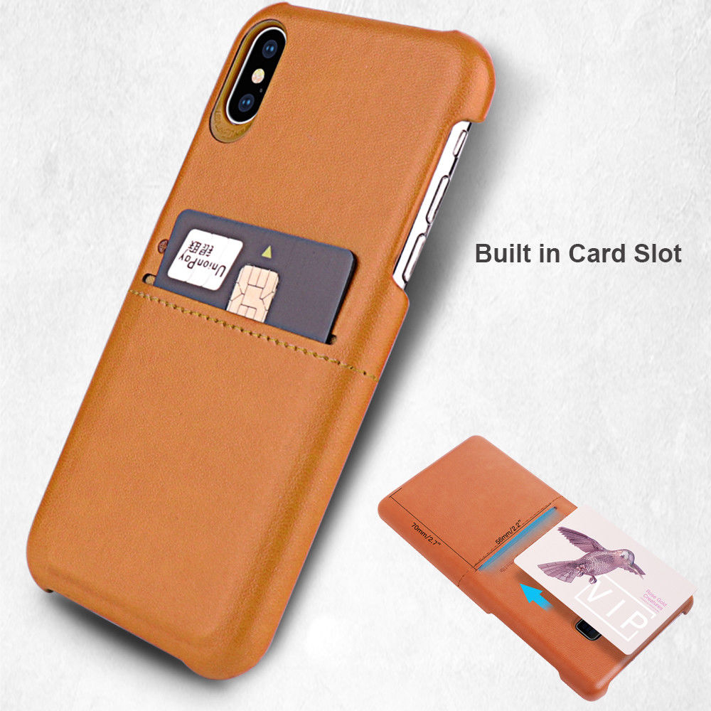 Premium PU Leather G-case Wallet with ID&Card Case For iPhone
