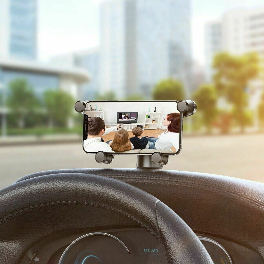 New Baseus Horizontal Gravity Auto Closing 360° Car Mount Phone holder