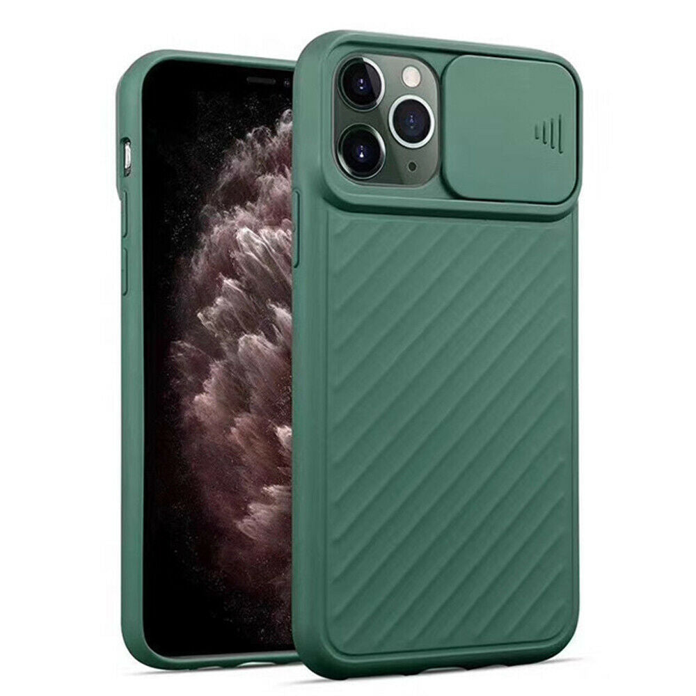 New Shockproof Rubber Silicone Camera Protective Case For iPhone