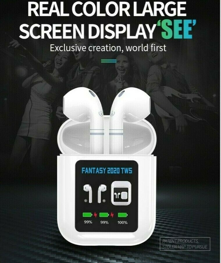 New Wireless Earbuds fantasy 2020 Headphones with Led Display