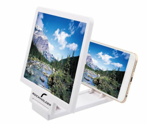 6X Enlarged Screen Magnifier Eyes 3D Folding Amplifier For All Smartphones
